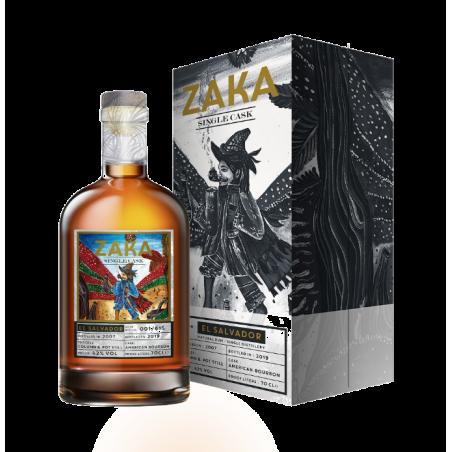 ZAKA EL SALVADOR SHERRY CASK 42°-70cl Edition limitée
